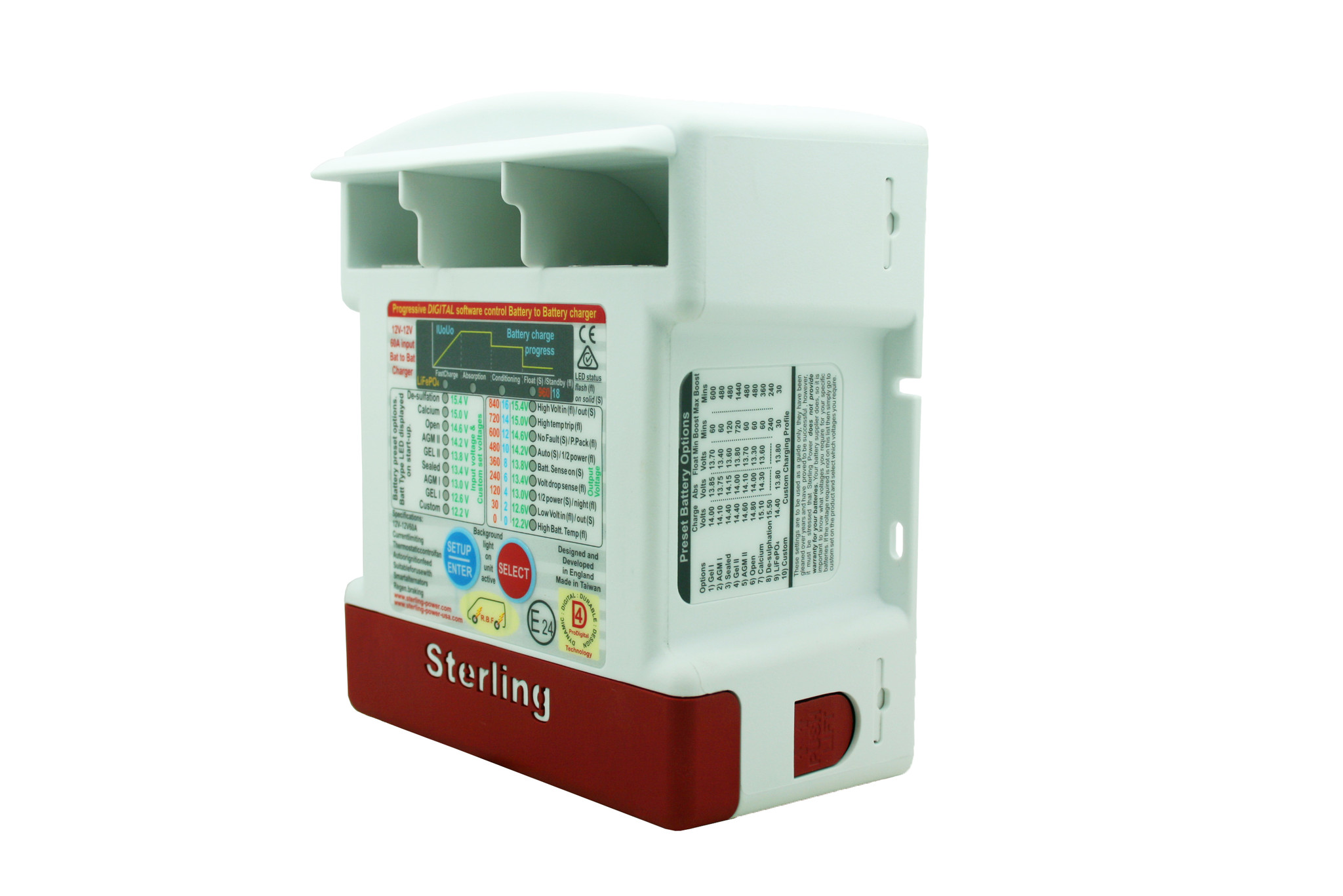 Sterling Power DC charger - part # bb1230