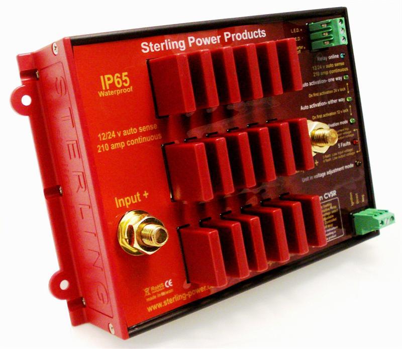 ProConnect CVSR Current and Voltage Sensitive 210 amp relay