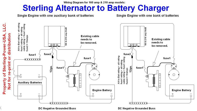 AlttoBat_160210.1 sterling power dc input alternator to battery charger 12 volt, 210