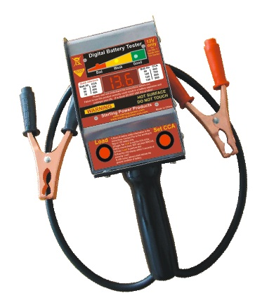 how to build a battery load tester