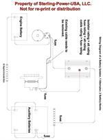 sterling power battery isolator 160