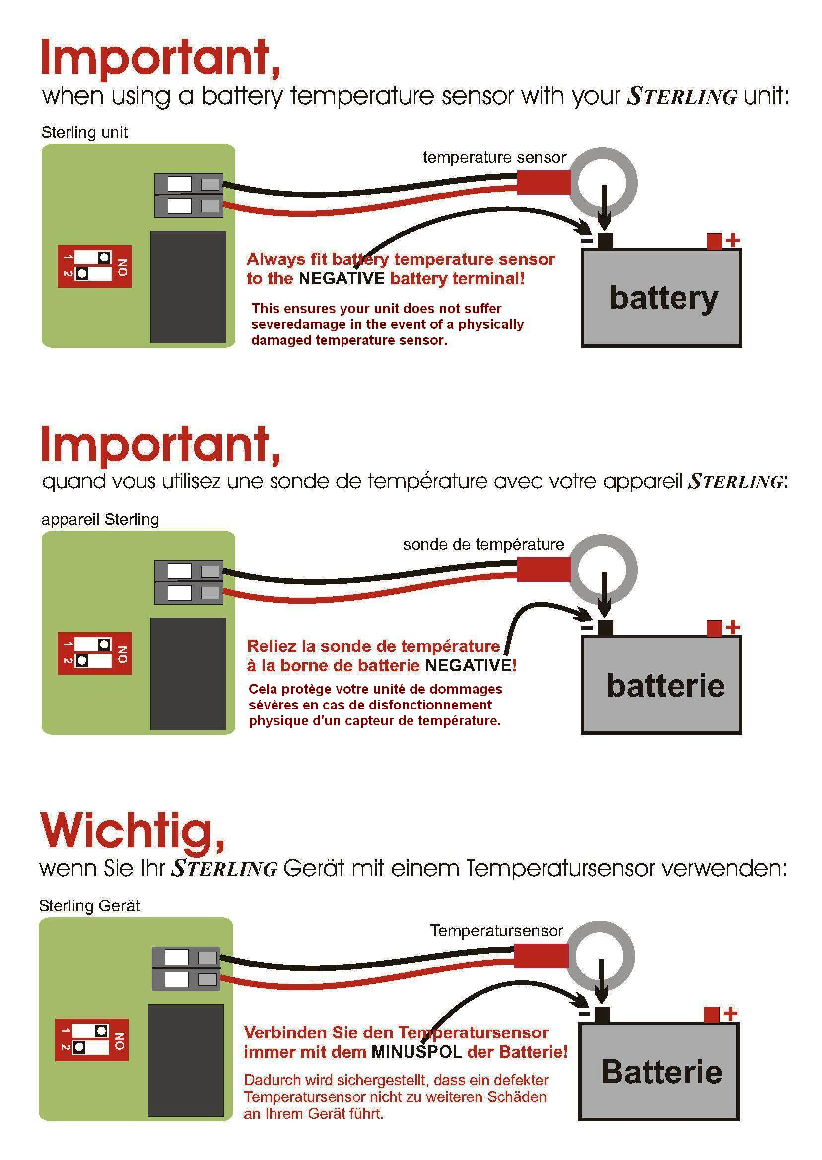 http://www.sterling-power-usa.com/library/Temp Sensor Installation  Warning.jpg. Wiring Diagram for a Sterling ...