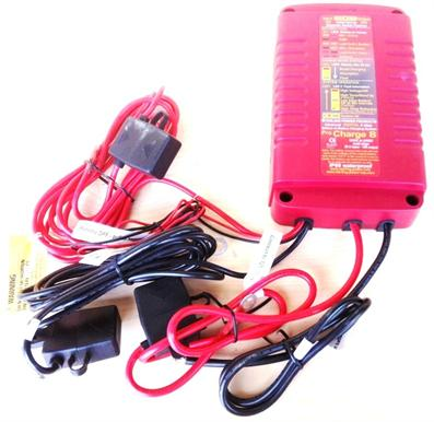IP68 Rated Waterproof DC Input Battery to Battery Charger