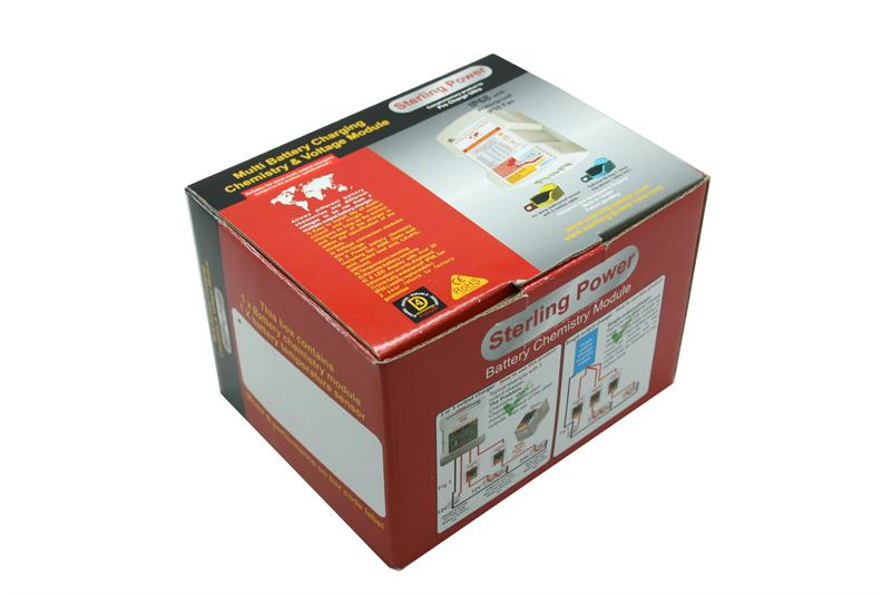 Sterling Power Battery Chemistry Module - Charge multiple battery